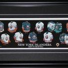 New York Islanders Jersey Evolution Frame