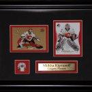 Miikka Kiprusoff Calgary Flames 2 card frame