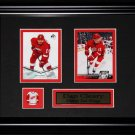 Dan Cleary Detroit Red Wings NHL 2 card frame