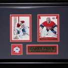 Carey Price Montreal Canadiens 2 card frame