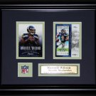 Russell Wilson Seattle Seahawks 2 card frame