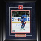 Brian Leetch New York Rangers signed 8x10 frame