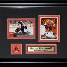 Scott Hartnell Philadelphia Flyers 2 card frame