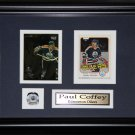 Paul Coffey Edmonton Oilers 2 card frame