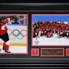 Custom Sports Double 2 8x10 Photo Frame NHL MLB NFL NBA Plaque Pin Matting