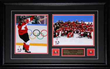 Custom Sports Double 2 8x10 Photo Frame NHL MLB NFL NBA Plaque Pin Matting