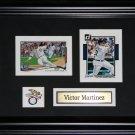 Victor Martinez Detroit Tigers 2 card frame