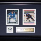 Gilbert Perreault Buffalo Sabres 2 card frame