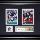 Bruce Smith Buffalo Bills NFL 2 Card frame