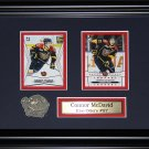 Connor McDavid Erie Otters 2 card frame