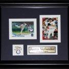 Justin Verlander Detroit Tigers 2 card frame