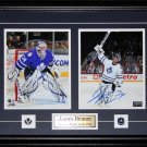 James Reimer Toronto Maple Leafs signed 2 photo frame
