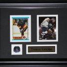 Trevor Linden Vancouver Canucks 2 card frame