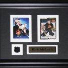 Kirk McLean Vancouver Canucks 2 card frame