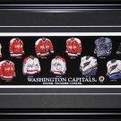 Washington Capitals Jersey Evoltuion frame