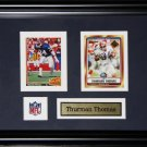 Thurman Thomas Buffalo Bills 2 card frame