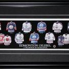 Edmonton Oilers Jersey Evolution frame