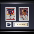 Mark Messier 2 card frame