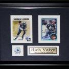 Rick Raive Toronto Maple Leafs 2 card frame