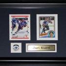 Jari Kurri Edmonton Oilers NHL 2 card frame