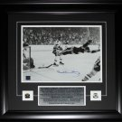 Bobby Orr Overtime Goal Black & White 11x14 signed frame