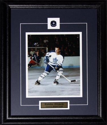 Eddie Shack Toronto Maple Leafs 8x10 frame