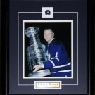 Johnny Bower Toronto Maple Leafs 8x10 frame