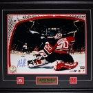 Martin Brodeur New Jersey Devils Signed 16x20 frame