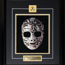 Gerry Cheevers Boston Bruins goalie mask 8x10 frame
