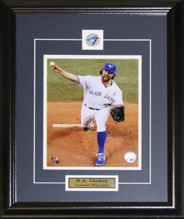 R.A. Dickey Toronto Blue Jays 8x10 frame
