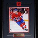 Brandon Prust Montreal Canadiens 8x10 frame