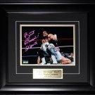 Brett Hart WWE WWF Signed 8x10 frame