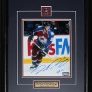 Peter Forsberg Colorado Avalanche signed 8x10 frame