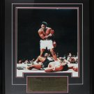 "Muhammad Ali ""I Am The Greatest"" 16x20 boxing frame"