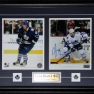 Tyler Bozak Toronto Maple Leafs signed 2 photo frame