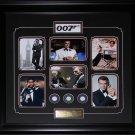 James Bond 007 Movie Compilation Poker Chips frame