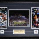 Custom Sports Triple 3 8x10 Photo Frame NHL MLB NFL NBA Plaque Pin Matting
