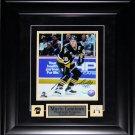 Mario Lemieux Pittsburgh Penguins signed 8x10 frame