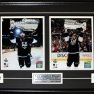 Custom Sports 4 Photograph 8x10 Photo Frame NHL MLB NFL NBA Plaque Pins Matting