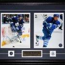 Nikolai Kulemin Toronto Maple Leafs signed 2 photo frame