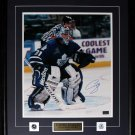 Curtis Joseph Toronto Maple Leafs signed 16x20 frame