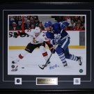 Joffrey Lupul Toronto Maple Leafs Signed 16x20 frame