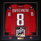 Alexander Ovechkin Washington Capitals signed jersey frame