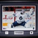 Jonathan Bernier Toronto Maple Leafs signed 16x20 frame