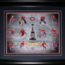 Montreal Canadiens Stanley Cup Vintage Forum Heroes 16x20 frame