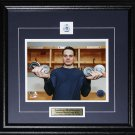 Auston Matthews Toronto Maple Leafs 1st Game 4 Goals Record 8x10 frame