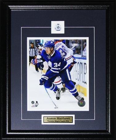 Auston Matthews Toronto Maple Leafs 8x10 frame