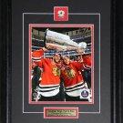 Jonathan Toews & Patrick Kane Chicago Blackhawks 2015 Stanley Cup 8x10 frame