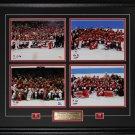 2014 2010 Team Canada Men & Women Gold Medal 4 photo frame