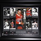 Maurice Richard Montreal Canadiens 16x20 compilation frame